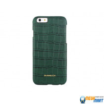 Bushbuck BARONAGE CAIMAN Genuine Leather for iPhone 6 (Green)