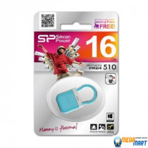 Silicon Power 16GB Touch T07 USB 2.0 (SP016GBUF2T07V1B)