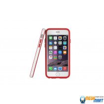 Araree Bumper case White-Red for iPhone 6
