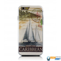 WOWcase Combo Printing case Carribean for iPhone 6