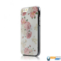 WOWcase Combo Printing case Roses for iPhone 6