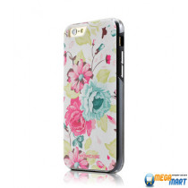 WOWcase Combo Printing case Flower for iPhone 6