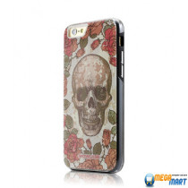 WOWcase Combo Printing case SKULL for iPhone 6