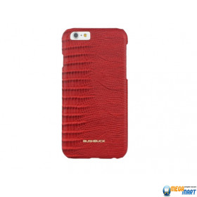 Чехол Bushbuck BARONAGE LIZARD Genuine Leather for iPhone 6 (Red)
